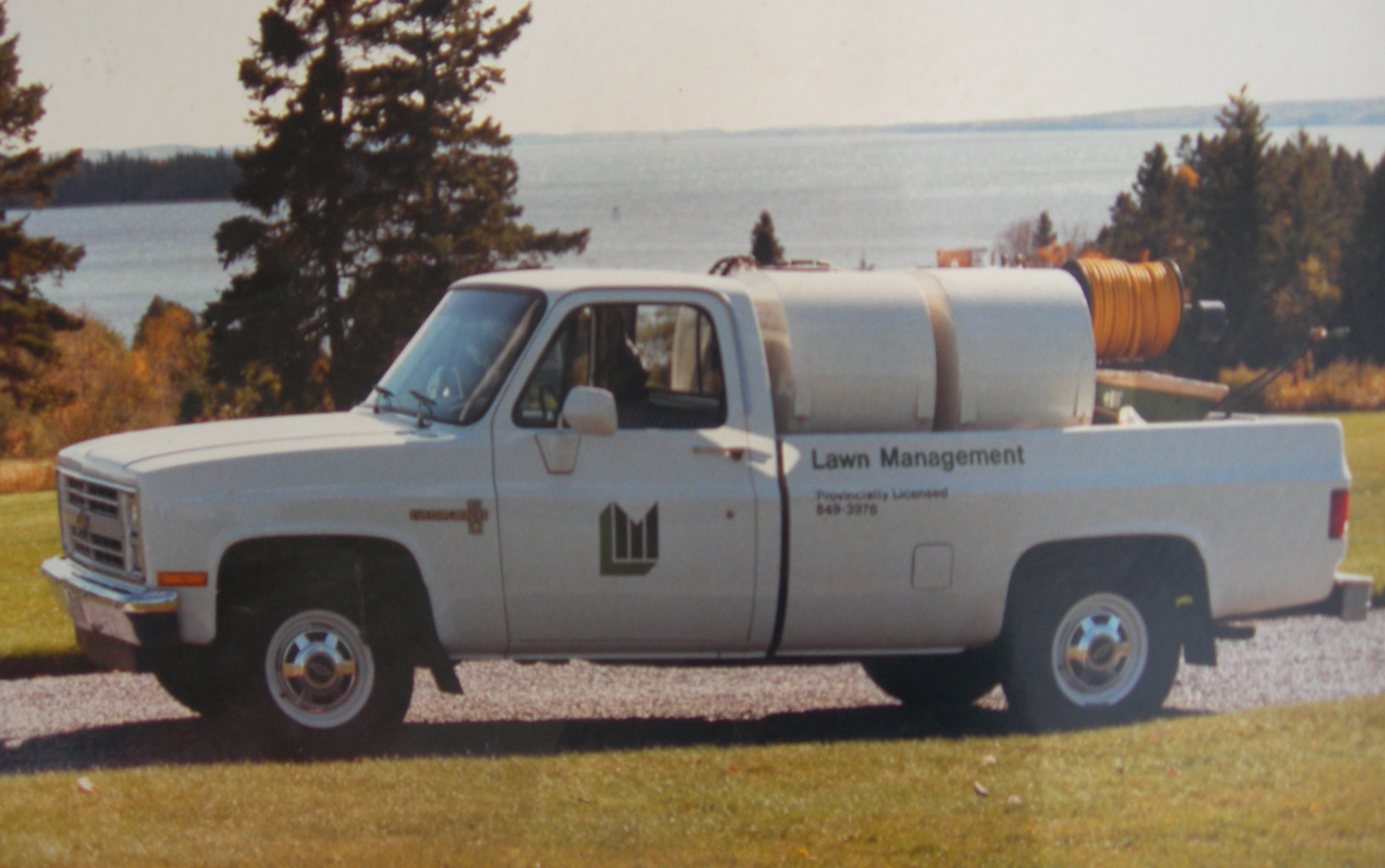 Lawn Management Truck in 1985
